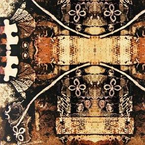 jigsaw (warm golds/burnt sienna)
