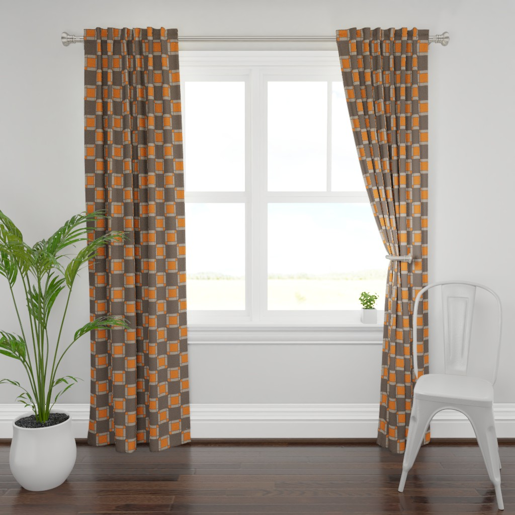 Plymouth Curtain Panel featuring UMBELAS SQUA 2 by umbelas