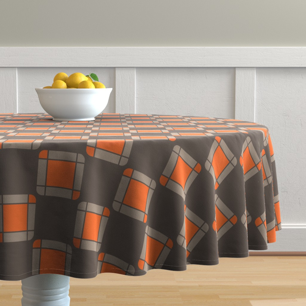 Malay Round Tablecloth featuring UMBELAS SQUA 2 by umbelas