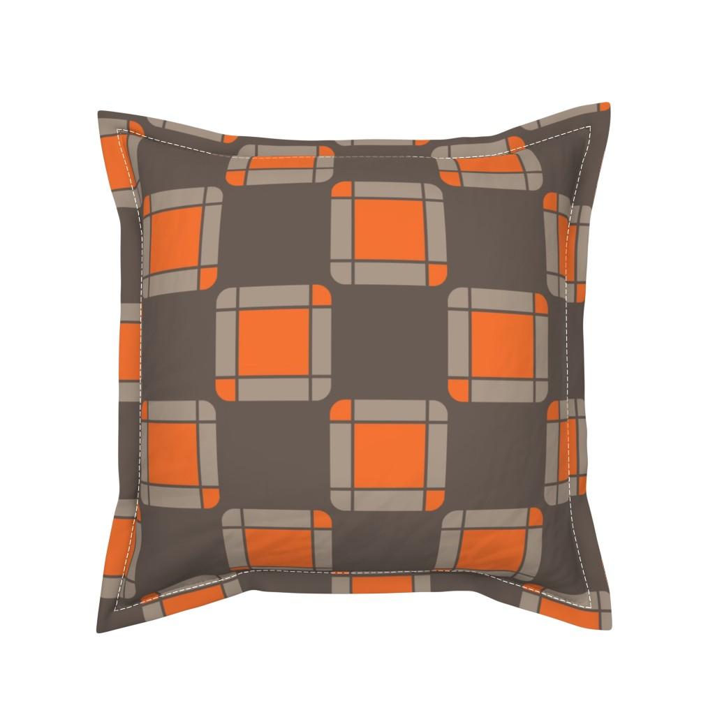 Serama Throw Pillow featuring UMBELAS SQUA 2 by umbelas