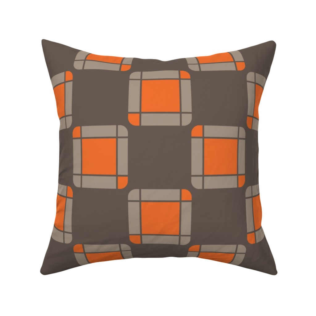 Catalan Throw Pillow featuring UMBELAS SQUA 2 by umbelas