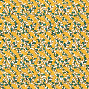 Petals Green and Yellow
