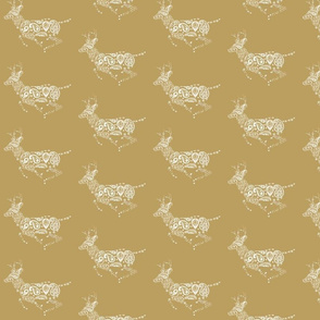 Golden Deer Pattern