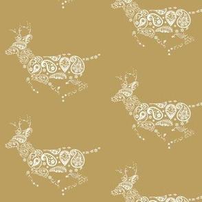 Golden Deer Pattern