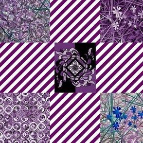 Mystic Quilt - Purple