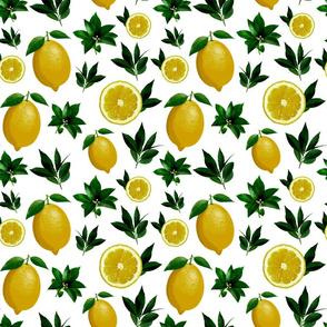 Lemon Love White