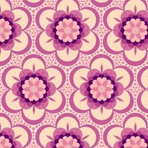 Bold floral - magenta