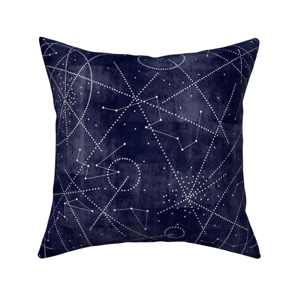 Catalan Throw Pillow featuring milky way dot to dot by booboo_collective