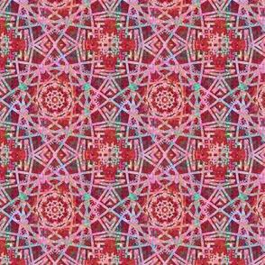 Colorfest: Little Red Kaleidoscope