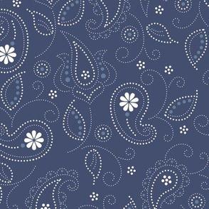 Blues: Paisley pattern