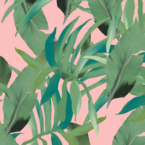 palm paradise blush pink