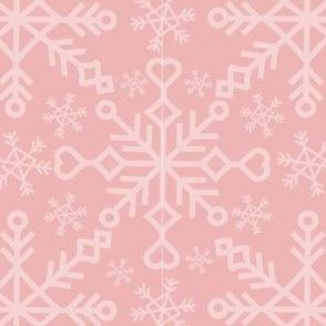 Snowflakes - Pink