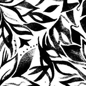 Dahlias_Abstract_black & white