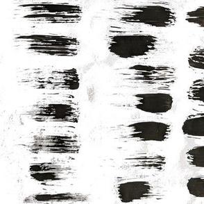 Short Strokes black & white
