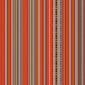 MADRAS  Stripe_13.5_ coral putty_7M