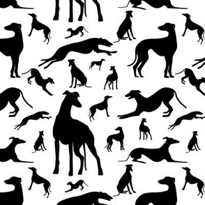 Greyt_Greyhound_Silhouettes_Monochrome