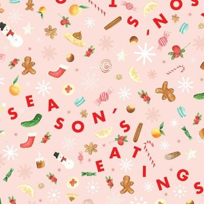 Season's Eatings Watercolor Treats