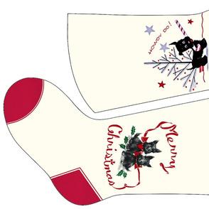 Scottie Dog Christmas Stockings 1 and 2