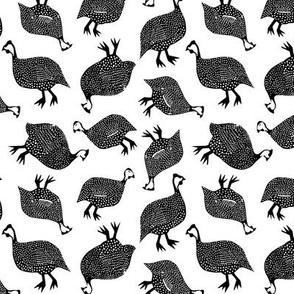 Ditsy Guinea Fowl