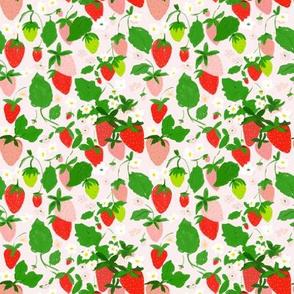 strawberry patch - quilt