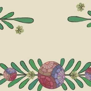 leaves and spheres2