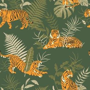 Tiger in Jungle / Jungle Park