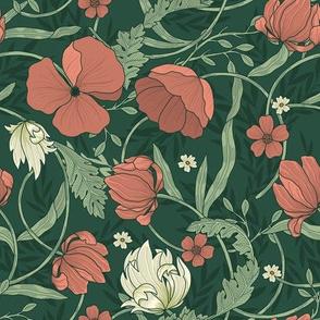 Red Poppies / Morris Garden