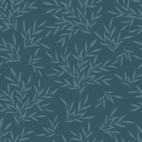 Art Nouveau Blue / Morris Garden