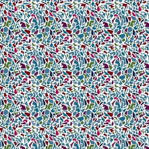 Terrazzo Abstract Jewel Tones 02