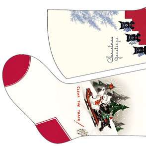 Scottie Dog Christmas Stockings 3 and 4