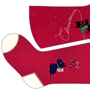 Scottie Dog Christmas Stockings 5 and 6