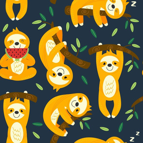 Sloths Smiling - 18