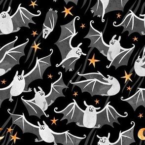 Night Bats Dancing - Grey Large