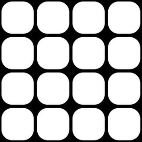 Round Square Pattern