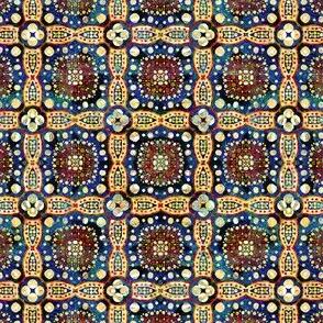 Golden Charm: Gypsy Picnic Squares