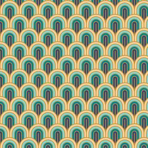 Geometric Pattern: Art Deco Arch: Dream