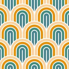 Geometric Pattern: Art Deco Arch: Lily