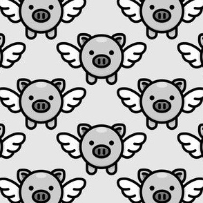 When Pigs Fly: Grey