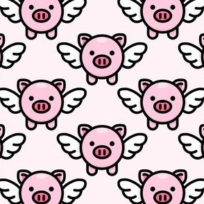 When Pigs Fly: Pink