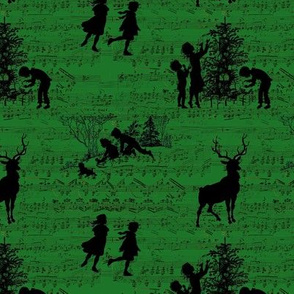 Winter Song of Green