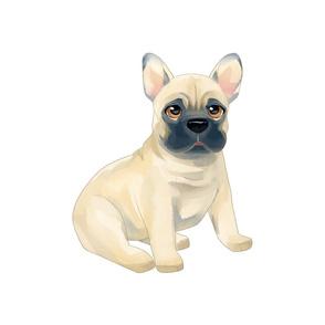 "18"" French Bulldog Design"