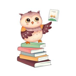 "18"" Reading Owl"