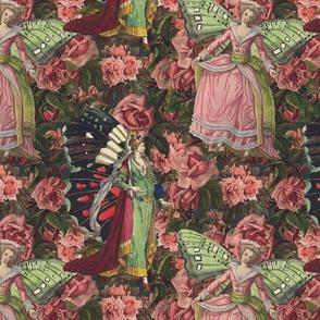 She Dwells Among the Roses