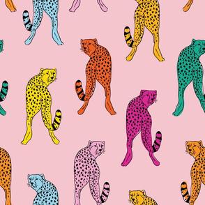 cheetah print // pink