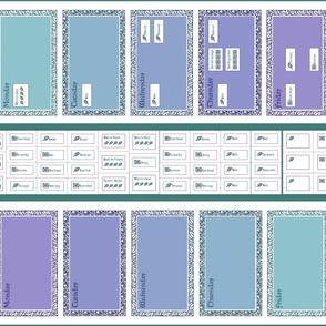 Eternal Weekly Things-to-do 1-yard linen Roller-towel Calendars