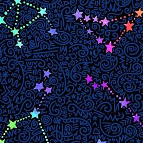 Rainbow Zodiac - detailed