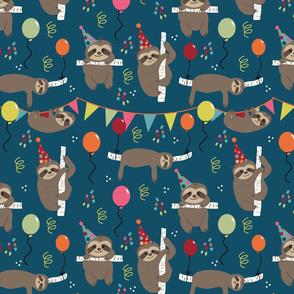 Birthday Party Animal Sloths - Large
