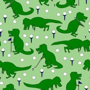t rex golf green
