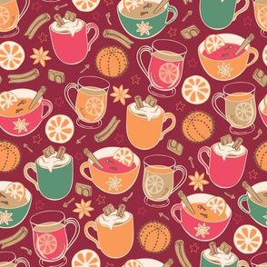 Hygge Holidays hot drinks