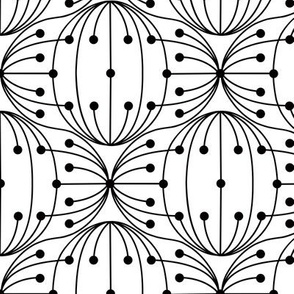 Umbel abstract pattern